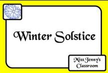 Celebration: Winter Solstice / Ideas and activities to teach students about the Winter Solstice.
