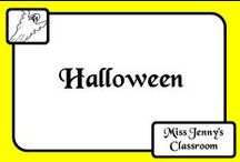 Event: Halloween / Halloween ideas and activities to use in the classroom