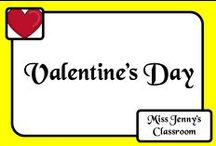 Celebration: Valentine's Day / Spread the love by teaching the class about Valentine's Day. Ideas, activities and information.
