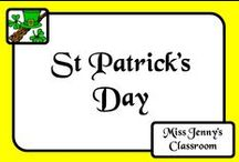 Celebration: St Patrick's Day / Ideas for celebrating the Irish celebration of St Patrick's Day on March 18