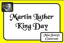 Celebration: Martin Luther King Day / Activities and information about Martin Luther King.