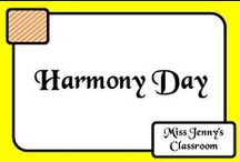 Event: Harmony Day / Ideas for teaching about Harmony Day in Australia. It is celebrated on March 21st each year to highlight diversity.