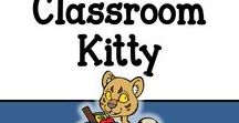 Classroom Kitty / A board showing all the resources I currently sell - from lesson plans to bunting to clip art to activities - you'll find it here.