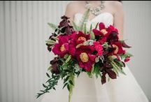 Bodacious Blooms Peonies in Wedding Bouquets / A special look at Bodacious Blooms peonies featured in bridal work.