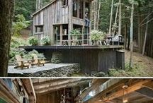 Tiny House Cabin / Tiny House, Cabin in the woods, Country Cabin