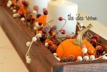 Fall Decor / Fall festive, Fall decor, Fall Home Decor, DIY Fall Decor, Fall outdoor decor and more