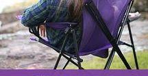Camping / Camping ideas, Camping chairs, Camping equipment