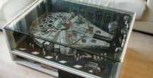 Geeky Decor ideas / Geeky Decor ideas | Geeky Home | Avengers, Harry Potter, Star Wars, Lego's Decor Ideas