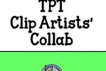 TPT Clip Artists' Collab - Free Clip Art / Find all the FREE CLIP ART on offer and available to download right now from members of the TPT Clip Artists' Collab.