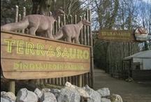 Dinosaurio Karpin abentura Karrantza (Bizkaia)