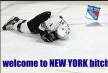 Hockey - go RANGERS!   / Love those rangers