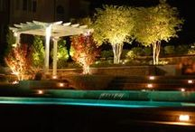 Outdoor Lighting / Your space should look just as beautiful in the dark as it does during the day. The right lightscapes will make sure you can enjoy your outdoor space day or night.