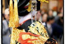 Traditional Japanese Kimono / Traditional clothing of Japan.