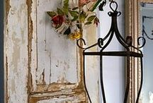 Pretty pretties / Old Décor, Vintage and all things pretty. These things always have a place in my home! / by Cynthia Gibbs