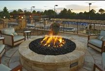 Hardscapes: Firepits / Enjoy your landscapes into the late fall with these designs from Lifescape Colorado and others who inspire us!