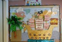 Bulletin Boards-Preschool / by Guylaine Labbe