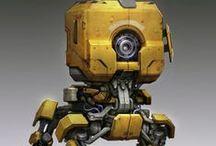 Sci-Fi_Robots_Ships