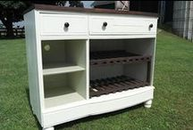 RePurposing Dressers / Drawers / RePurposing / ReUsing Dressers and/or drawers. What to do with dressers (furniture).