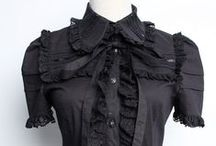 Gothic Lolita Clothing at www.pixieknix.com / Beautiful gothic lolita and sweet lolita blouses and skirts at www.pixieknix.com, from the clothing brands RQ-BL, Pentagramme, Infanta and others.
