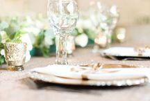 Wedding By Love BeLoved / White Green & Gold Inspired Wedding