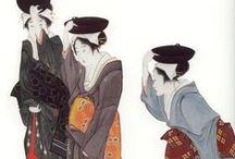 うきよえ (浮世繪) - japanese painting