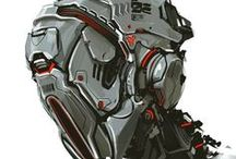 Race/Sci Fi  Helmet / Capacetes, roupas, acessórios