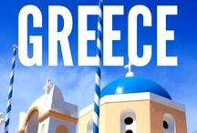 Greece Travel / Traveling in Greece may be as close to paradise as possible. The islands, the history, the food, the people. Enjoy Greece!