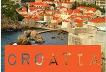 Croatia Travel / Travel CROATIA - With it's astounding scenery Croatia is a picture postcard on the Dalmatian coast. The beauty of Croatia has to be seen to be believed.