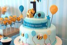 Thomas' 1st Birthday ideas / Baby boy birthday ideas