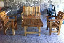 Reutilizar es reciclar / Reutilizar la madera de las pallets o tarimas para hacer muchas cosas