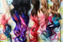 Amazing Coloured Hair / !!! Cool hair !!!