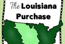 Social Studies - Louisiana Purchase / Ideas and inspiration for teaching students about the Louisiana Purchase.