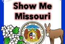 Social Studies - Missouri / Ideas and inspiration for teaching 4th grade students about Missouri.