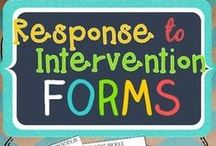 RtI / Ideas and inspiration for response to intervention.