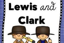 Social Studies - Lewis and Clark / Ideas and inspiration for teaching elementary students about Lewis and Clark.