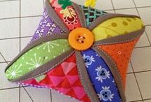 pin cushions and scissor cases