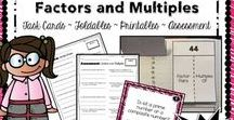 Math - Factors and Multiples