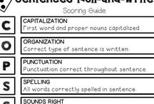 Sentences / Ideas and inspiration for writing different types of complete sentences.