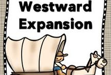 Social Studies - Pioneers/Westward Expansion / Ideas and inspiration for teaching students about westward expansion.