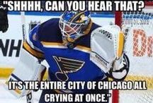 Hockey / A collection of funny (but mostly true!) quotes and pictures about my favorite sport.