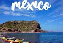 Mexico Travel / Mexico Travel - Vibrant colors, rich history, stunning beaches and friendly people. Mexico is one of our favourite  destinations.