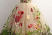 Dresses from Flowers