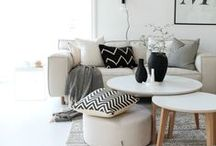 Occasional tables and buffet style furniture to decorate your home / a collection of side tables, lamp table and coffee tables, as well as buffets and side units that I love!
