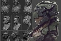 Hard Surface Character / Scifi Hard surface Character