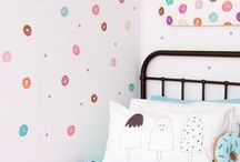 For the Wall - you name it, clocks, artwork, prints, shelving, hooks...