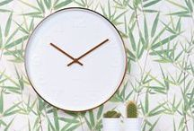 Clocks, beautiful faces, stylish time keepers and elegant hands / wall clocks or alarm clocks - when should telling the time be boring!?