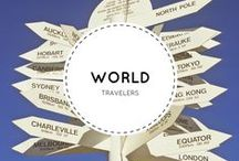 World Travelers / Keeping track of other travelers stories. All across the World.