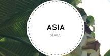 Surfer Girl Asia Series / My travels to the Asian countries.