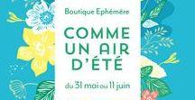"""Comme un air d'été / Bienvenue dans la maison de la communauté des créateurs de la team Petit Paris ! Avec la boutique éphémère """"Comme un air d'été"""" nous vous proposons un voyage à la campagne. Un vrai changement d'air à l'approche de l'été, l'atmosphère d'un week-end entre copains dans une charmante maison de famille à la campagne...  RDV le 31 mai de 14h à 20h puis du 1e au 11 juin, de 10h à 20h, ouvert 7 jours / 7 au 14 rue du Chateau d'eau, Paris 10 Métro : République ou Jacques Bonsergent"""