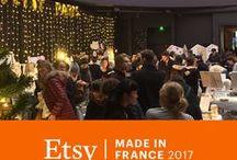 Etsy Made in France 2017 / Marché de créateurs les 9 et 10 décembre 2017 à Paris.  Découvrez ici les créateurs que vous retrouverez lors de cet événement. Pour en savoir plus : https://www.facebook.com/events/127533894684488